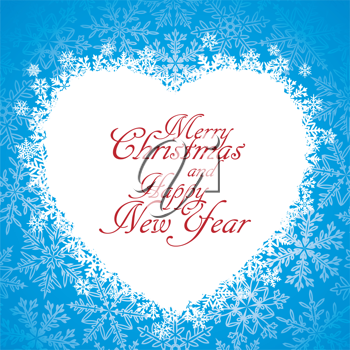 Royalty Free Clipart Image of a Greeting Card