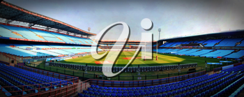 Royalty Free Photo of Loftus Versfeld Rugby Stadium With Empty Stands