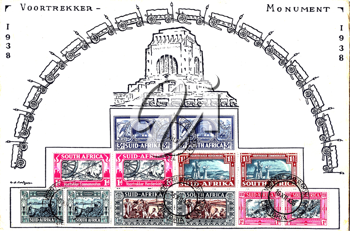 Royalty Free Photo of a Stamp Series