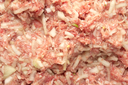 background of minced meat