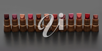 Royalty Free Photo of a Bunch of Lipstick