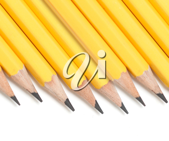 Royalty Free Photo of a Bunch of Pencils
