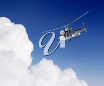 Royalty Free Photo of a Helicopter