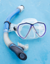 Royalty Free Photo of a Snorkel Mask