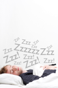 Royalty Free Photo of a Sleeping Man