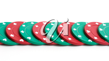 Royalty Free Photo of Poker Chips