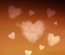 Heartshaped clouds