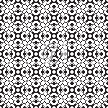 Royalty Free Clipart Image of a Monochrome Background