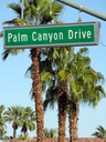 Royalty Free Photo of Palm Canyon Drive Sign