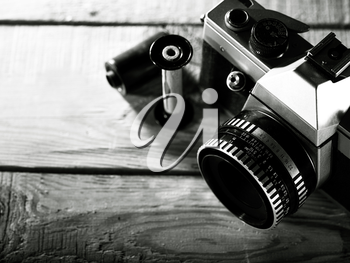 Royalty Free Photo of an Old Camera