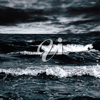Royalty Free Photo of a Stormy Sea