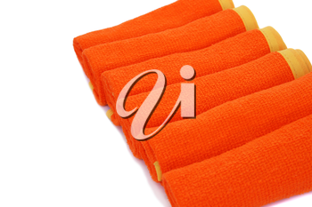 Royalty Free Photo of Rolled Towels