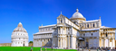 Famous Piazza Dei Miracoli Square of Miracles in Pisa, Italy