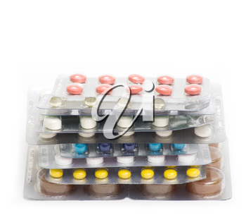 Royalty Free Photo of Packs of Pills