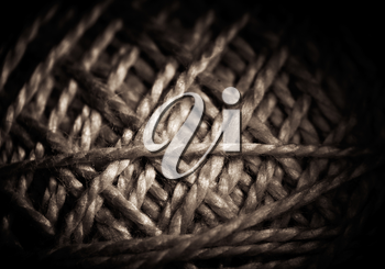 texture of coarse rope