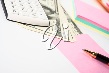 Royalty Free Photo of Accounting Objects