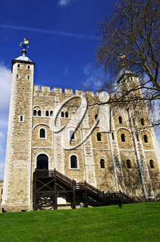Tower of London historic building in England