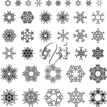 Vector elements for your Christmas design.