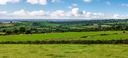 Panoramic view of Kilkenny County in Ireland