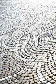 in the castano primo  street lombardy italy  varese abstract   pavement of a curch and marble