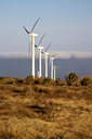 africa wind turbines and the sky in the isle of lanzarote spain