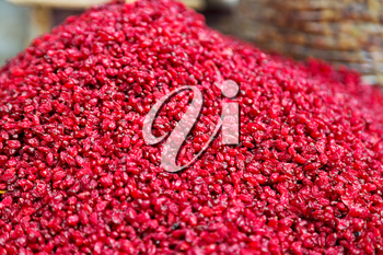 in iran factory of dried cranberries lots of vitamin and fresh nutrition