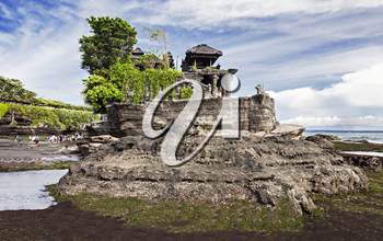 Tanah Lot temple on Bali