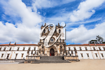 The Alcobaca Monastery is a Mediaeval Roman Catholic Monastery in Alcobaca, Portugal