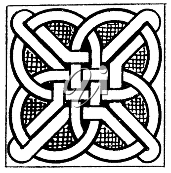 Royalty Free Clipart Image of a Knot