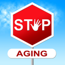 Stop Aging Representing Growing Old And Prohibit