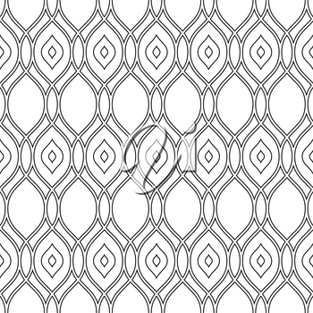 Geometric pattern. Seamless vector texture for backgrounds