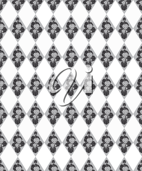 Geometric pattern. Abstract seamless ornament. floral background