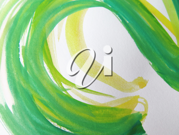 Colorful Abstract watercolor painted background